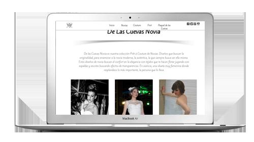 Atelierweb web couture for El rebajon de la ardilla